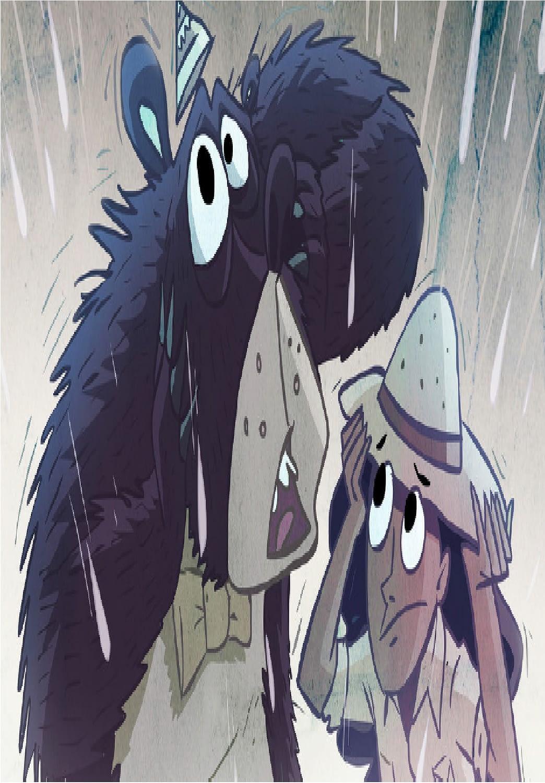 إنها تمطر سمكا!