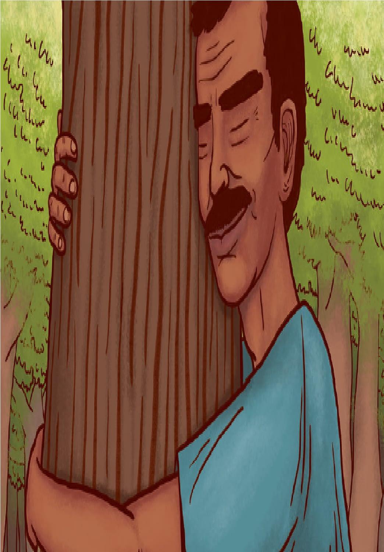 أنس .. صديق الأشجار