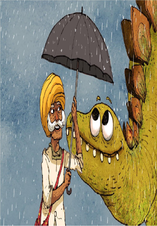 الغناء تحت المطر